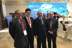 Four delegates from Malaysia